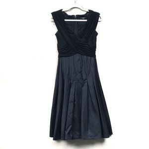 Tadashi Collection Black Formal Fit and FlareDress